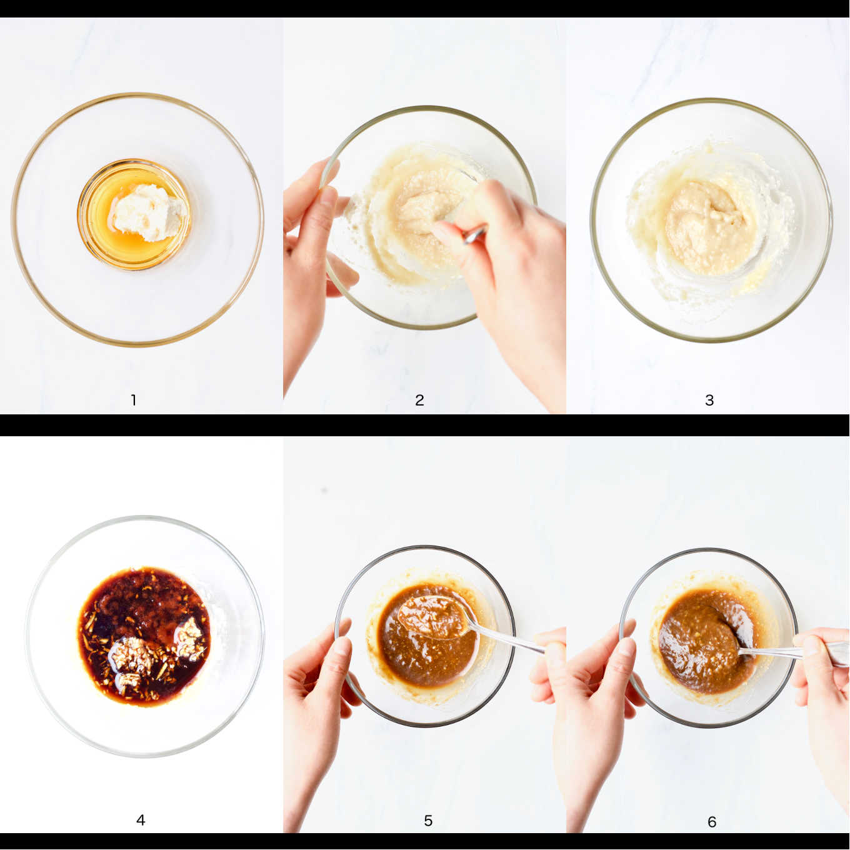 steps to make the Sake Kasu marinade for this recipe