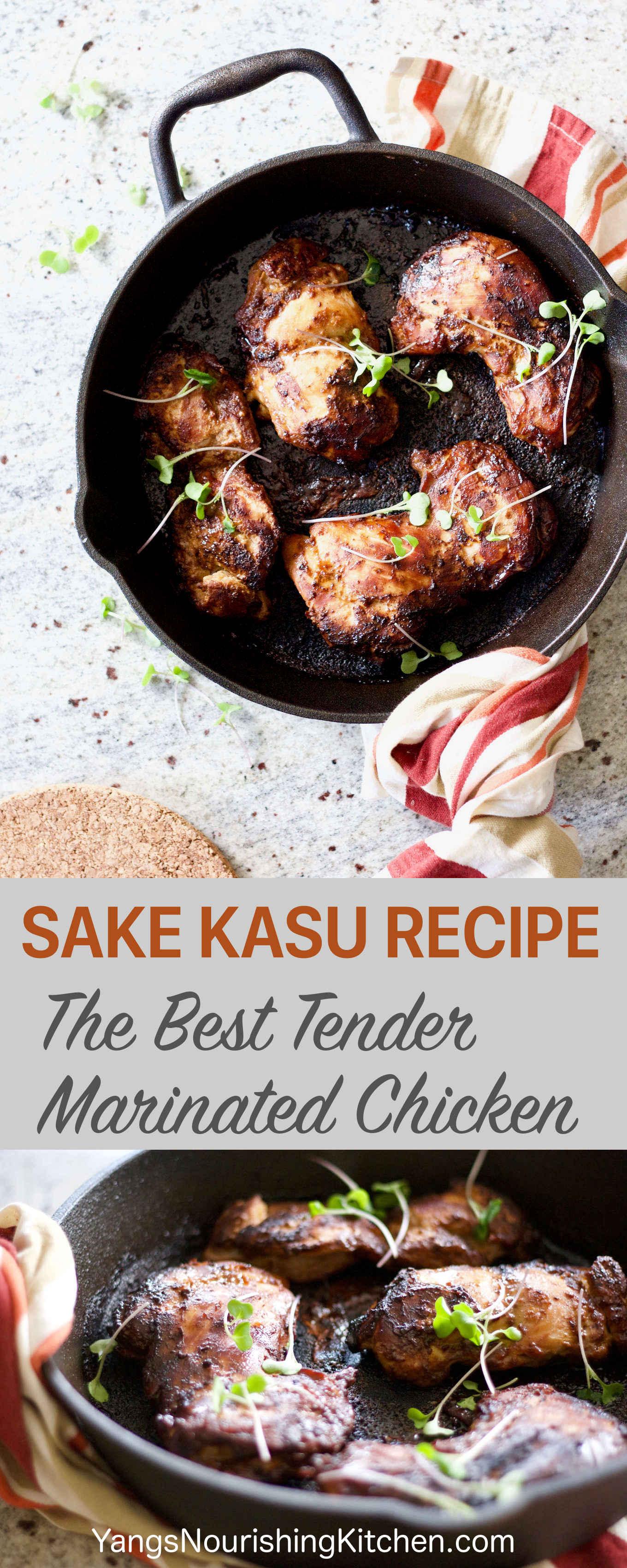 Sake Kasu Recipe: The Best Tender Marinated Chicken