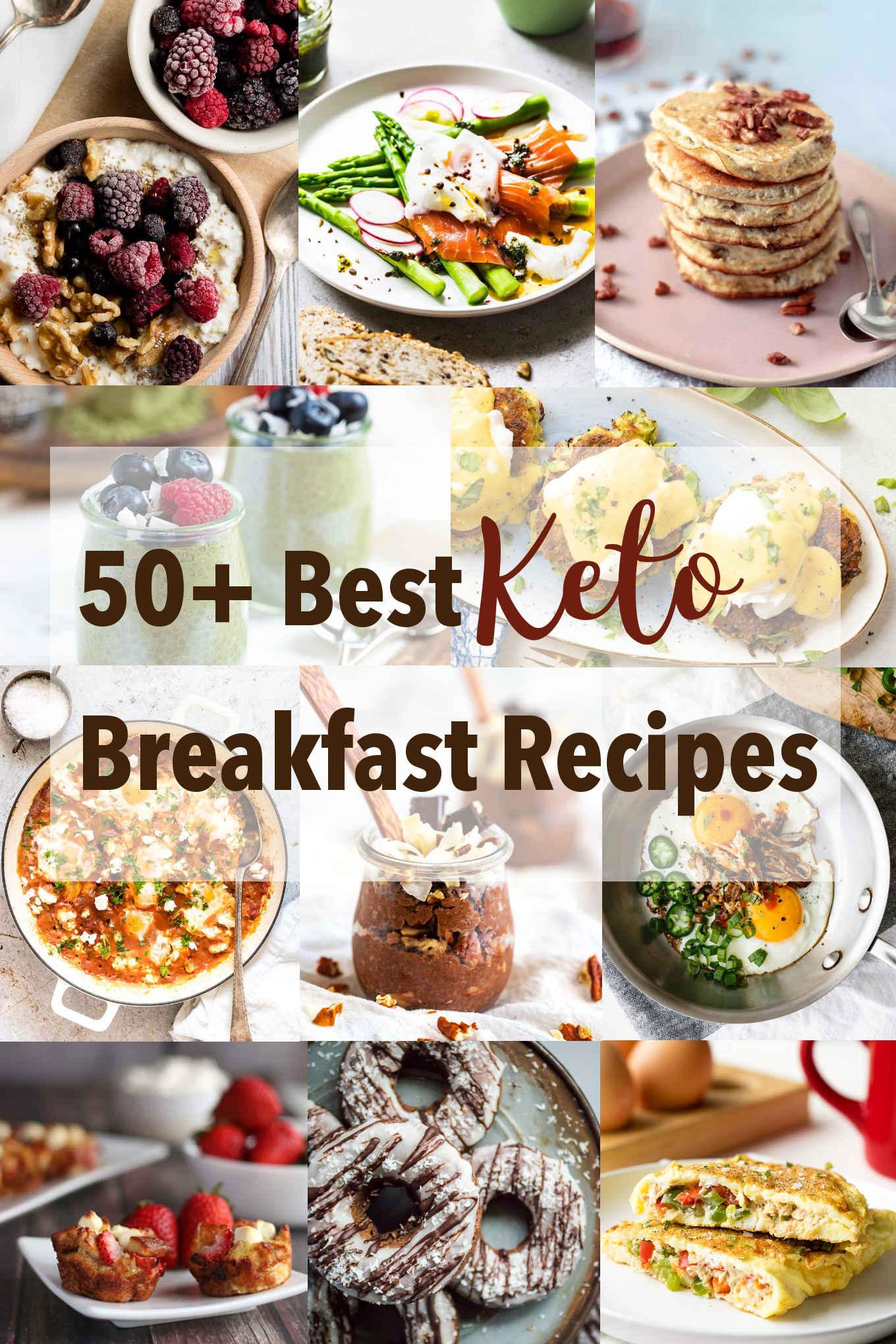 50+ Best Keto Breakfast Recipes