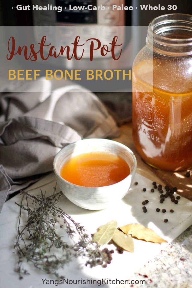Instant Pot Beef Bone Broth