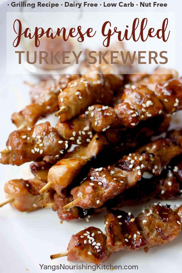 Japanese Grilled Turkey Skewers