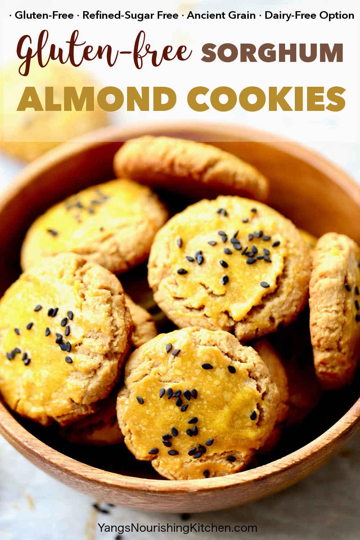 Gluten-Free Sorghum Almond Cookies