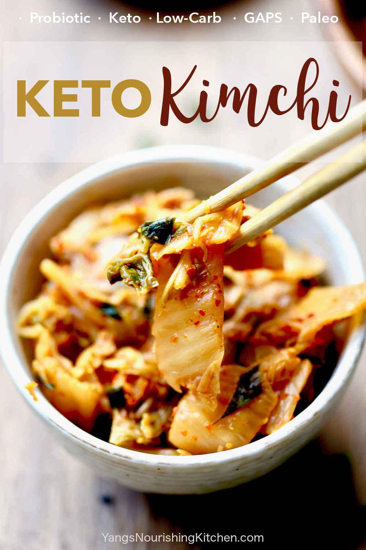 Keto Kimchi (Whole 30, GAPS, Paleo)