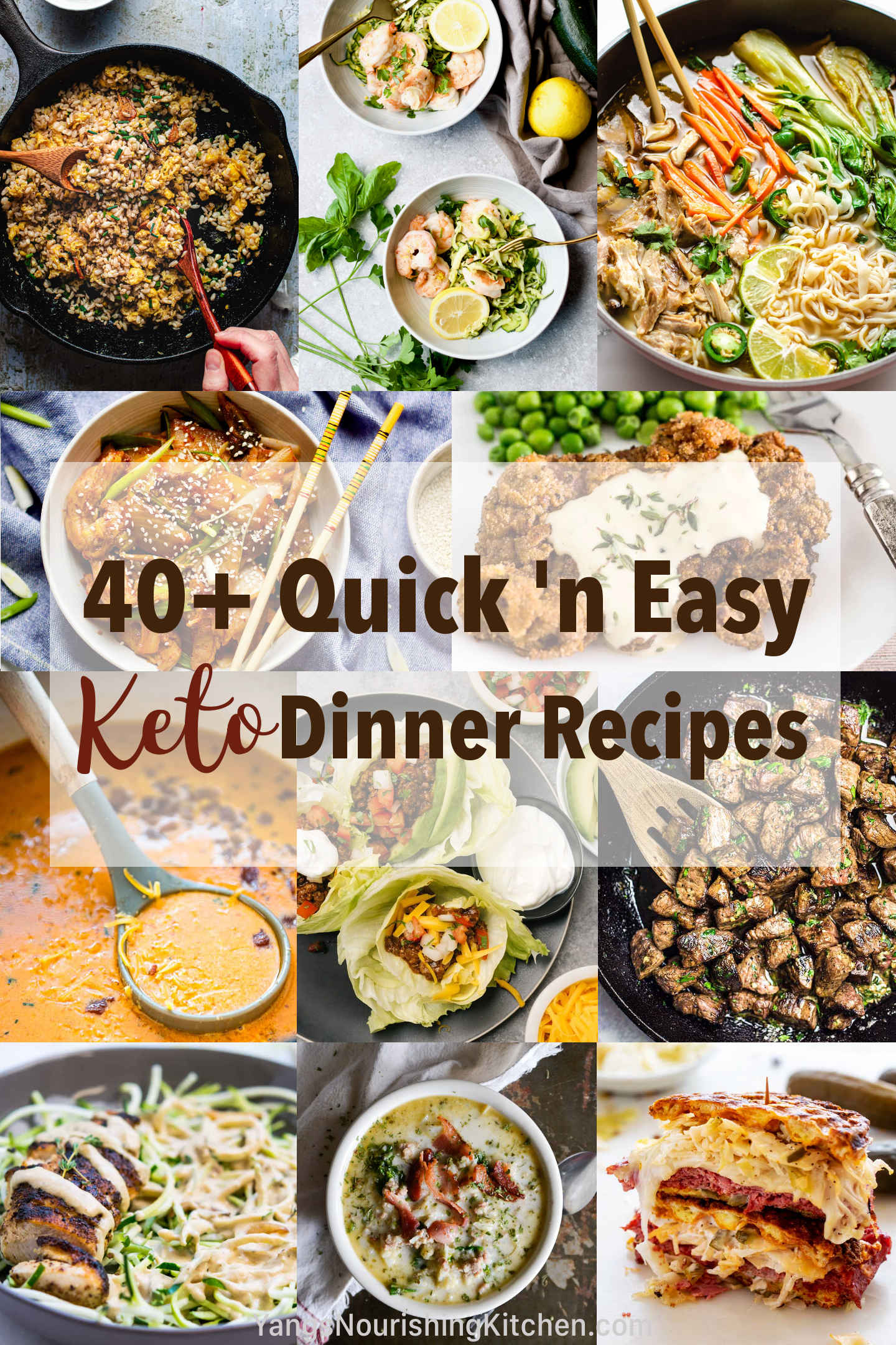 40+ quick and easy keto dinner recipes