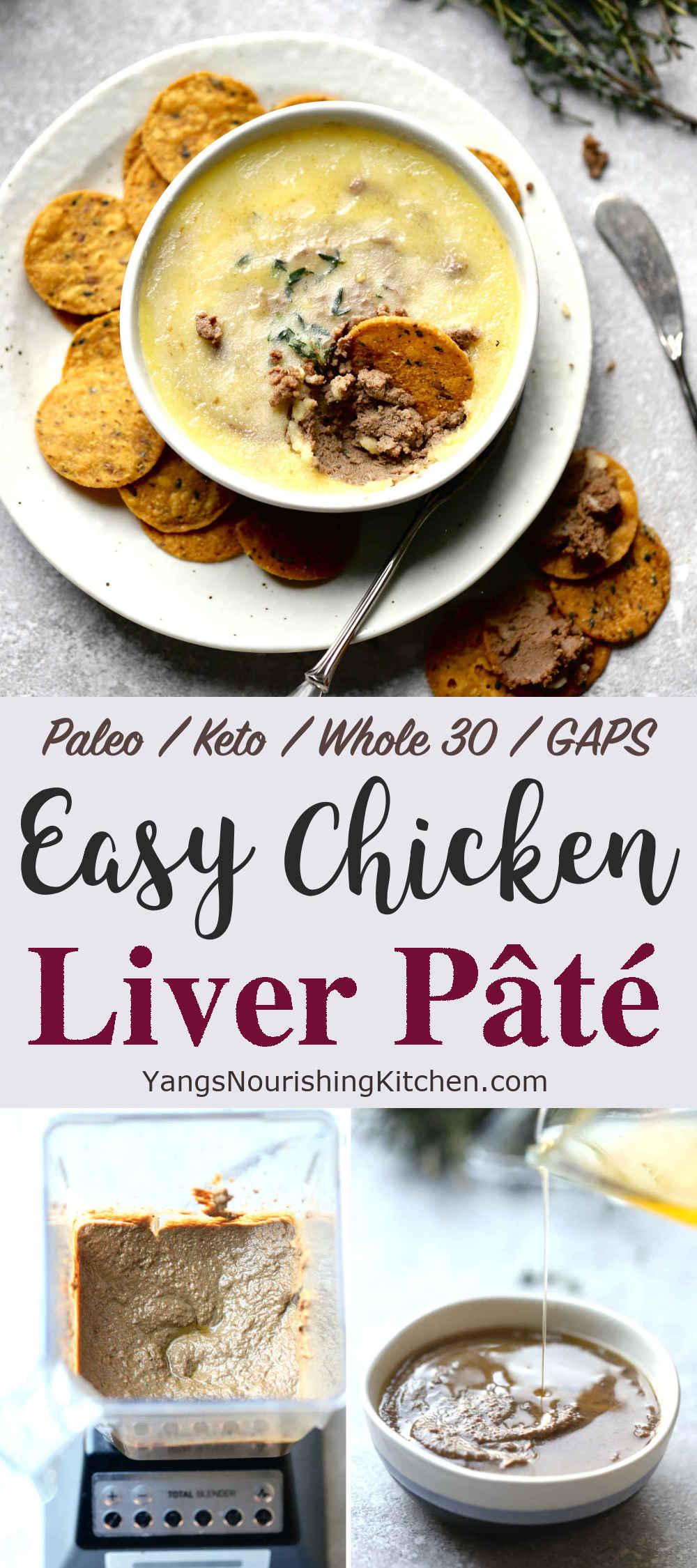 Easy Chicken Liver Pâté (Keto, Paleo, Whole 30)