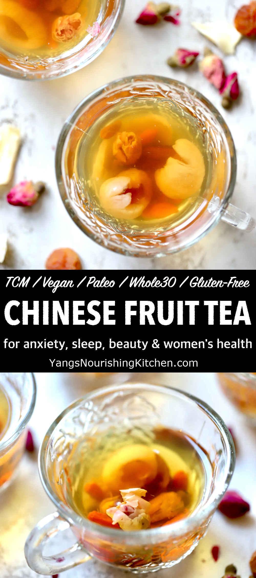 Bedtime Calming Tea (TCM, Vegan, Paleo)