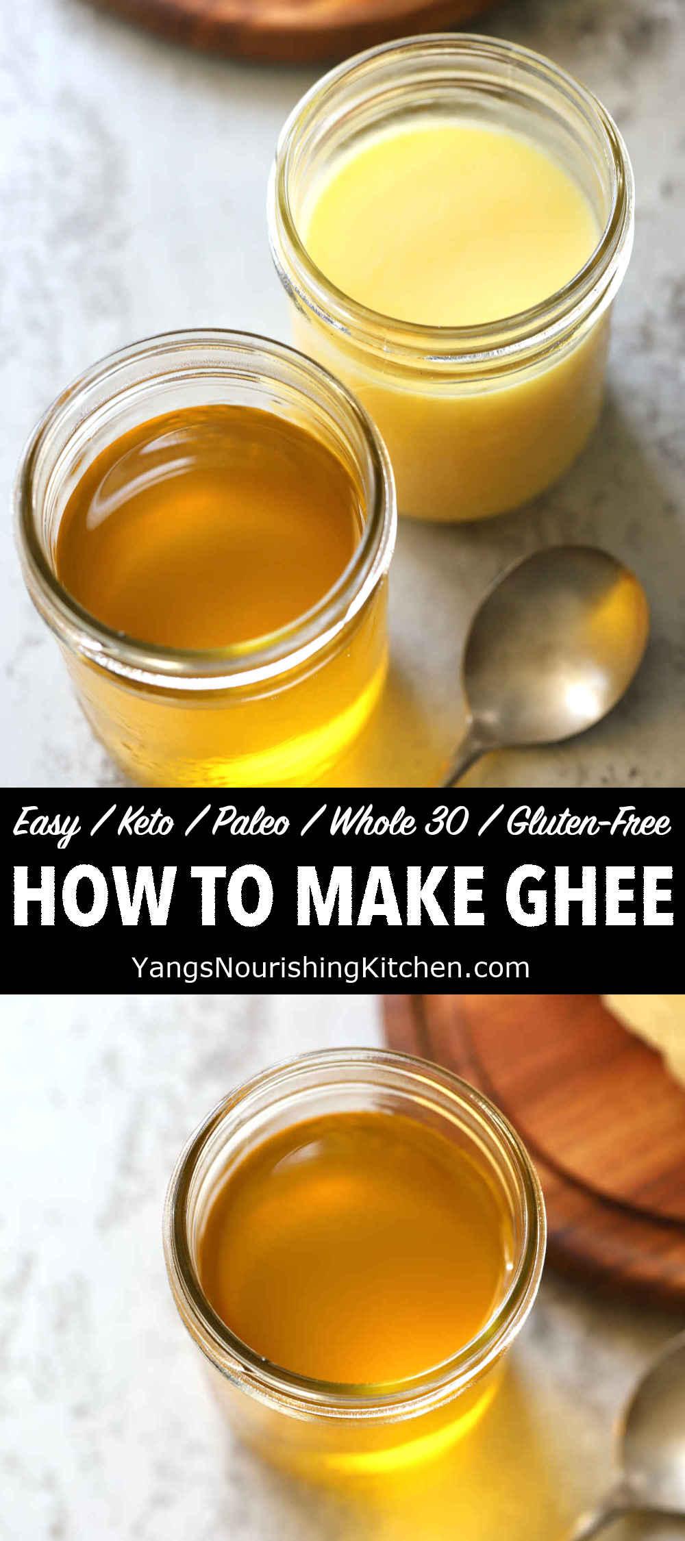 How to Make Ghee (Easy, Plain vs. Spiced)