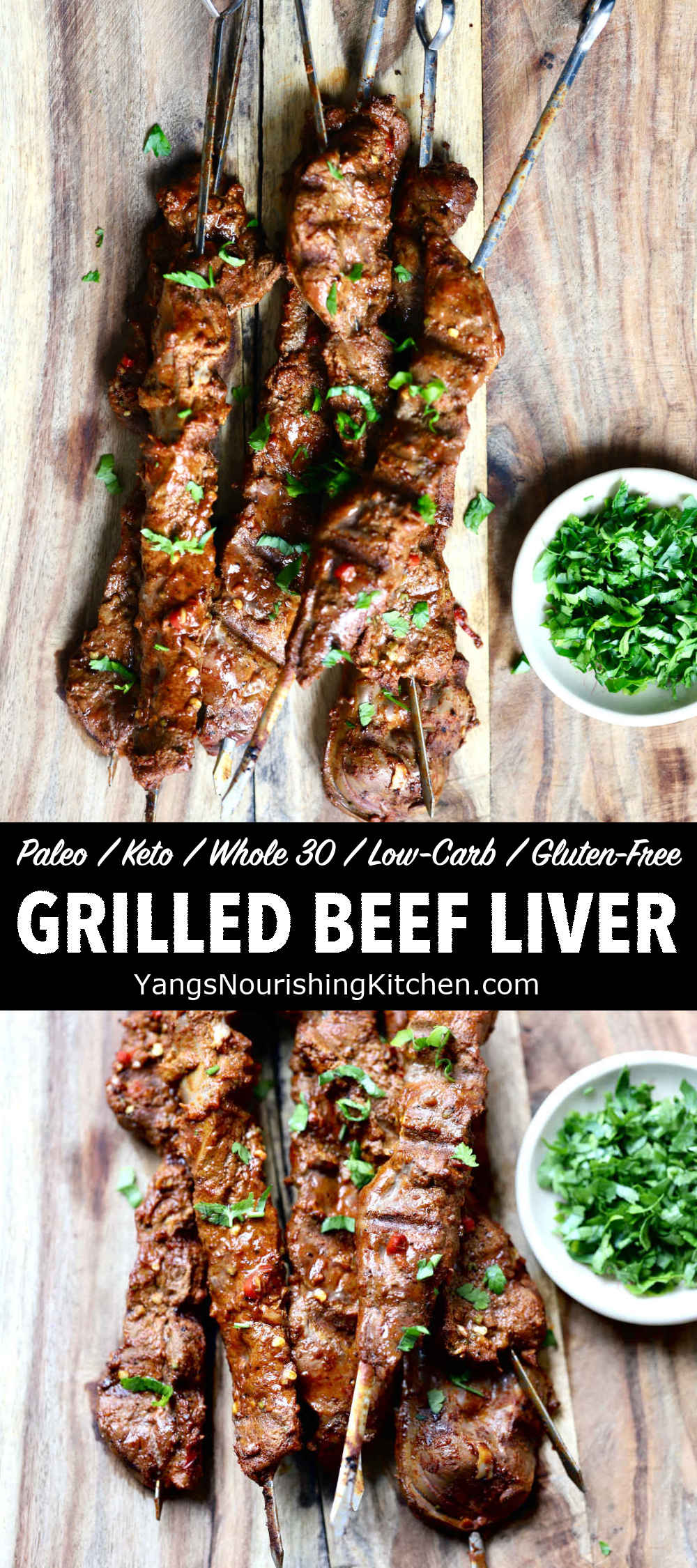 Grilled Beef Liver (Keto, Paleo, Low-Carb)