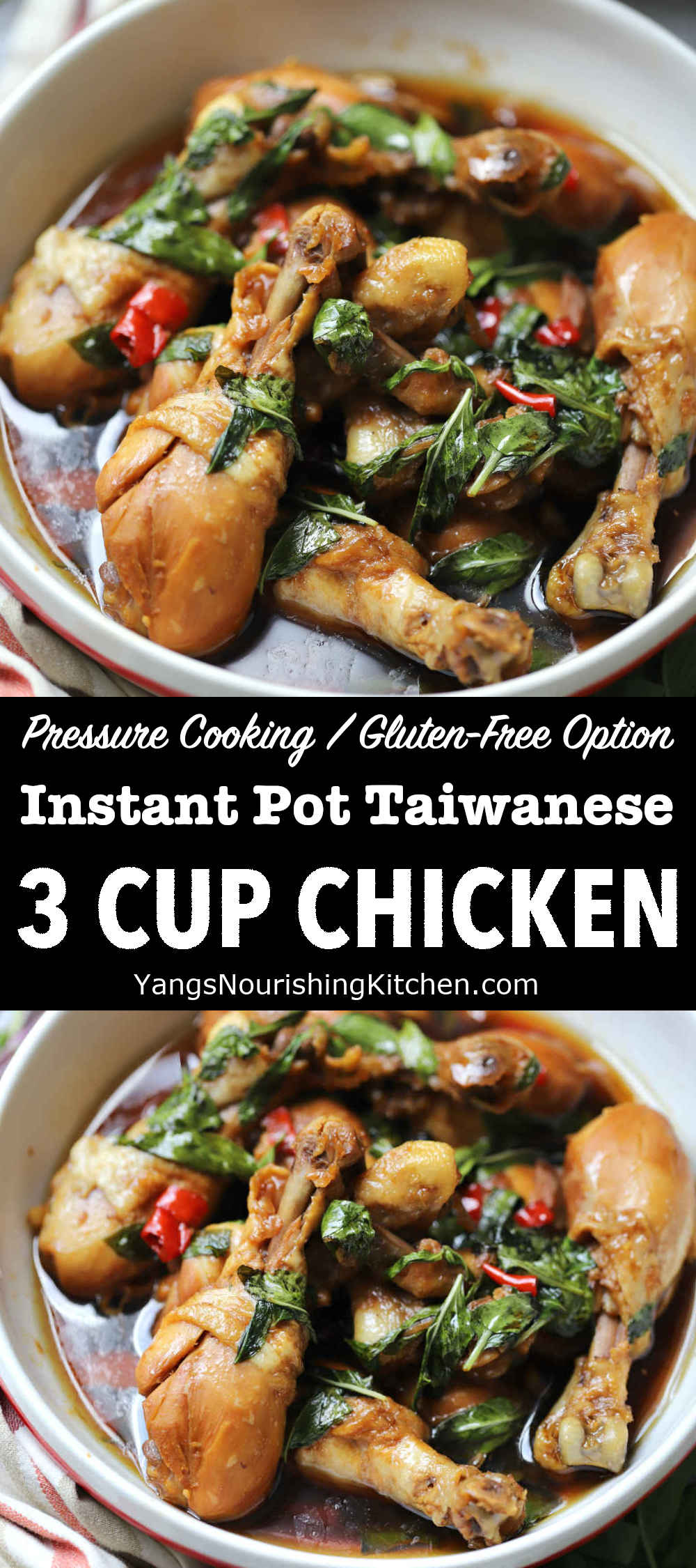 Instant Pot 3 Cup Chicken