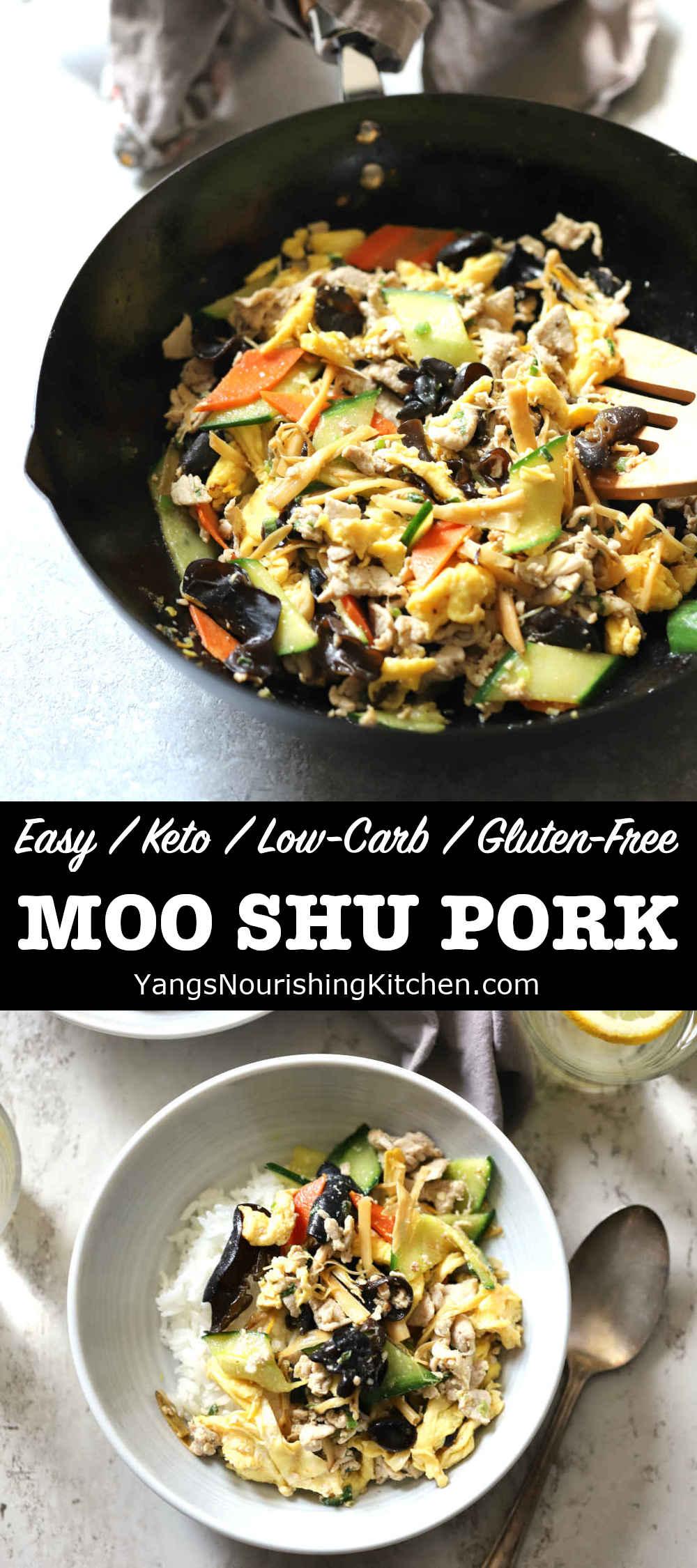 Moo Shu Pork (Keto, Low-Carb)
