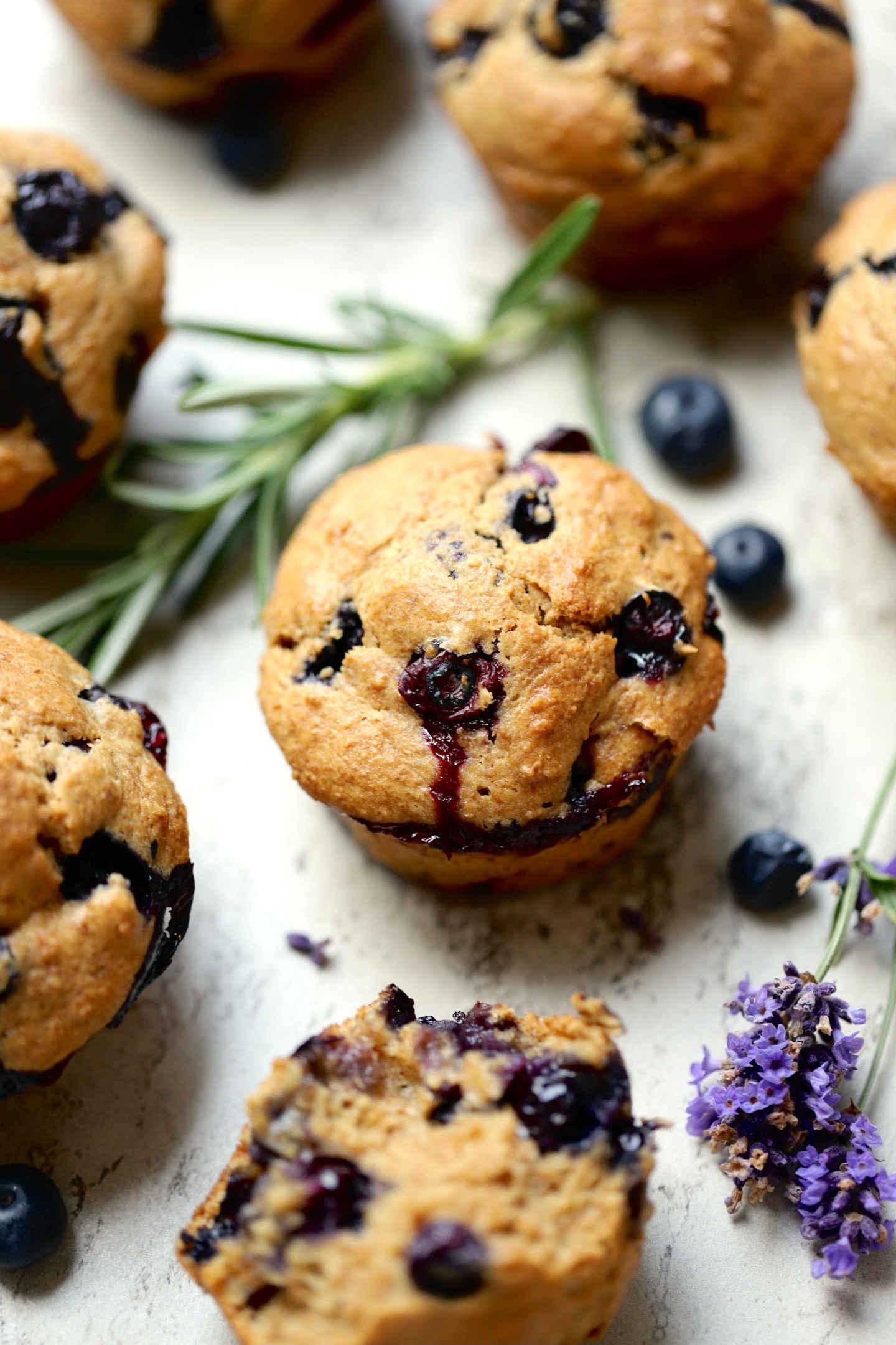 ancient whole grain spelt muffins